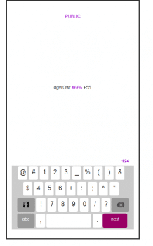 Мобильная клавиатура