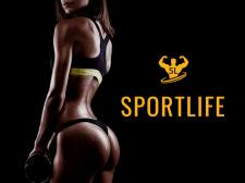 Sportlife, Gym Fitness Website