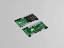 визитка для клининговой компании