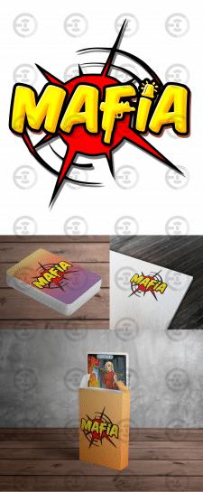 """Логотип для игры """"Мафия"""""""