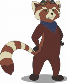 Червона панда персонаж