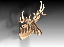 Голова оленя (ДСП)
