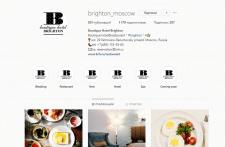 Ведение страницы отеля в facebook и instagram