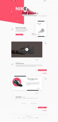 Брендовая обувь от Nike