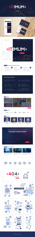 Дизайн сайта компании web-разработки