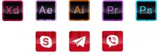 Индивидуальные иконки на сайт