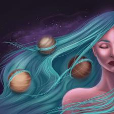 Сплетение планет. Иллюстрация