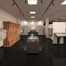 Дизайн интерьера магазина детской одежды в г.Днепр