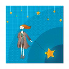 Девочка со звездами