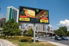 Дизайн наружной рекламы ресторана
