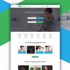 Дизайн сайта для образовательной платформы