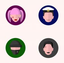 Иконки людей