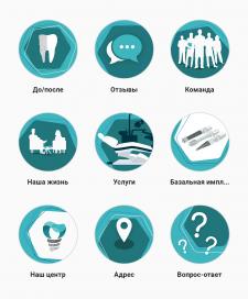Хайлайтс для Instagram стоматологической клиники
