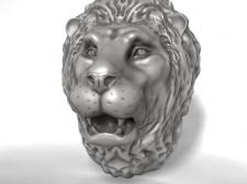 модель головы льва