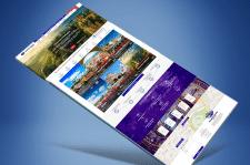 Сайт для крупной тур фирмы в Чехии