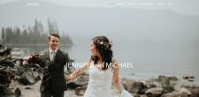 Верстка свадебного сайта для зарубежной пары