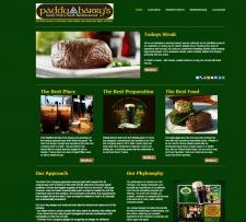 Irish Pub Website Development