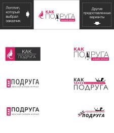 Логотип для женского онлайн журнала