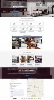 UI/UX Design. Мир кухонь.