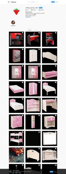 SMM детской мебели из Турции