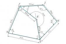 Схема теодолитного хода