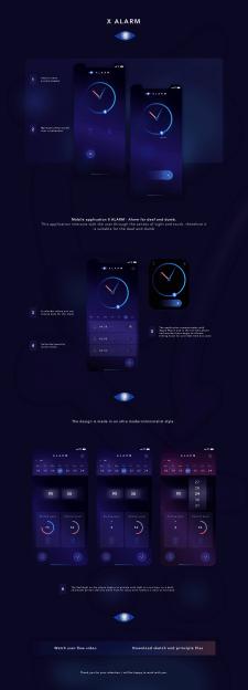 """Приложение """"X Alarm"""" - Будильник для глухонемых"""