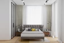 Квартира в современном стиле (спальня)