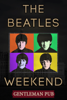 Ситилайт для паба. The Beatles Weekend