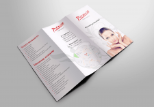 Дизайн буклета для салона красоты