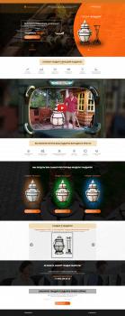 Дизайн Landing Page Тандыр продажа