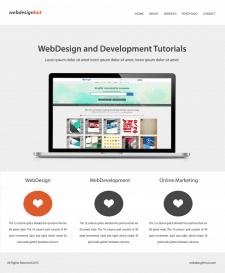 Сайт различных тьюториалов для веб-дизайна
