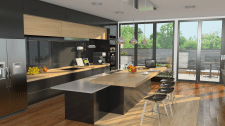 Кухня в загородном доме