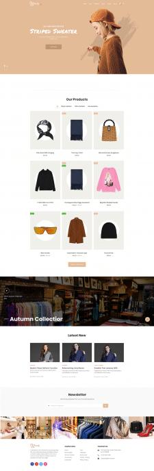 Сайт для интернет магазина