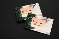 Создание дизайна визитки для стилиста