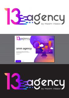 логотип для 13agency