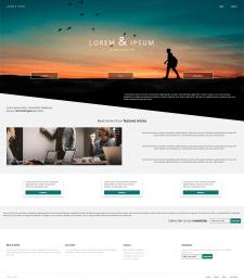 Шаблон Landing Page