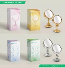 Дизайн упаковки для серии товаров