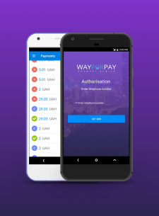 """Android App """"Way For Pay"""""""