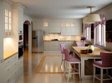 Дизайн и визуализация кухни в современном стиле