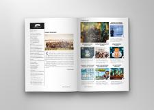 Разворот Корпоративного журнала