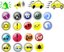 """Иконки для программы """"Такси"""""""