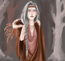 Кельтская ведьма