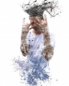 Обработка фото в стиле - Abstract