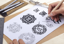 process of logo development