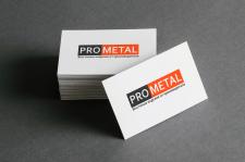 Визитка и разработка логотипа PRO METAL