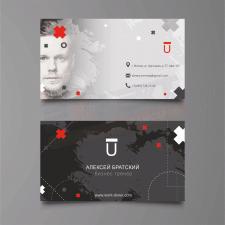 Визитная карточка для бизнес тренера