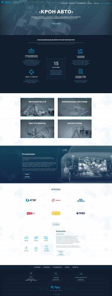 Разработка имиджевого сайта