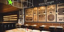Дизайн проект ресторана в стиле лофт