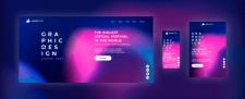 Liquid - адаптивная страница по PSD макету