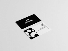Дизайн визитки для дог-тренера.